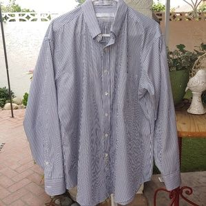GEOFFREY BEENE WRINKLE FREE DRESS SHIRT,